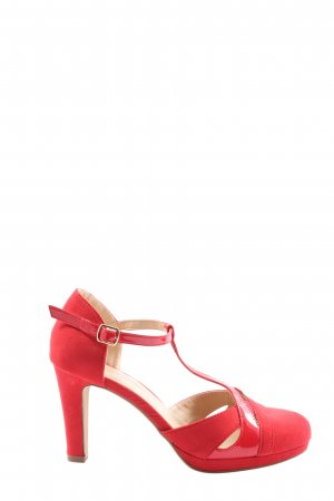 Anna Field Strapped pumps red elegant