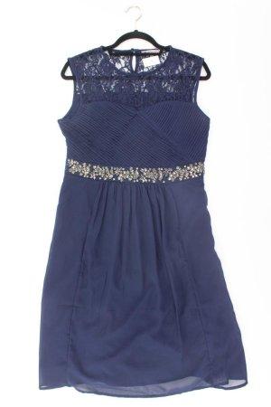 Anna Field Kleid Größe 40 neuwertig blau aus Polyester