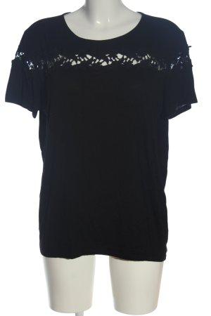 Anna Field Blouse met korte mouwen zwart casual uitstraling