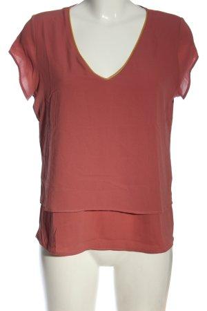 Anna Field Camicetta a maniche corte rosso-arancione chiaro stile casual