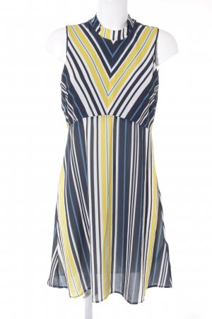 Anna Field Shortsleeve Dress yellow-dark blue striped pattern casual look