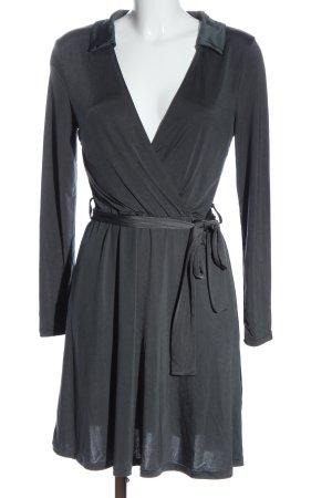 Anna Field Robe à manches longues gris clair style décontracté
