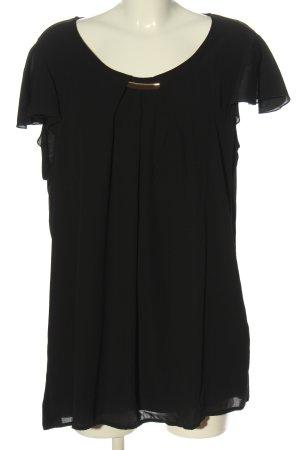 Anna Field Lange blouse zwart zakelijke stijl
