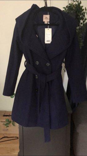 Anna Field Abrigo de entretiempo violeta oscuro-azul oscuro