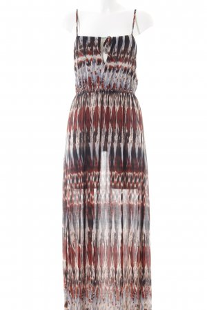 Anna Field Maxi Dress abstract pattern casual look