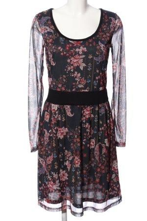 Anna Field Sukienka midi Abstrakcyjny wzór Elegancki