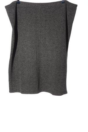 Anna Field Spódnica midi czarny-biały Melanżowy W stylu biznesowym