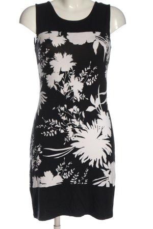 Anna Field Mini-jurk zwart-wit bloemenprint elegant