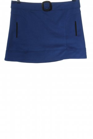 Anna Field Minirock blau-schwarz Casual-Look