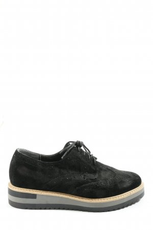 Anna Field Oxfords black casual look