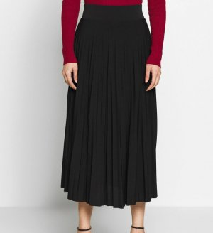 Anna Field Plaid Skirt dark blue polyester