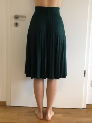 Anna Field Pleated Skirt forest green