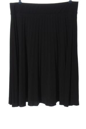 Anna Field Jupe plissée noir motif rayé style décontracté