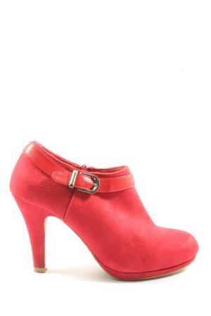 Anna Field Reißverschluss-Stiefeletten rot Elegant
