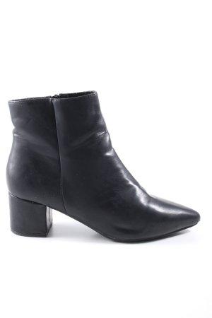 Anna Field Reißverschluss-Stiefeletten schwarz Casual-Look
