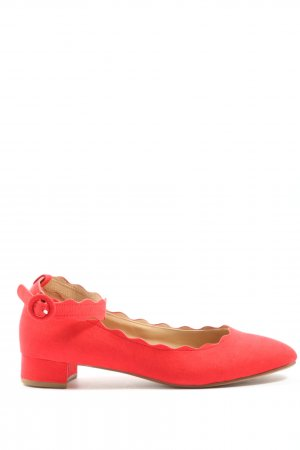 Anna Field Strappy Ballerinas red elegant