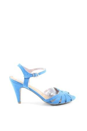 Anna Field Riemchenpumps blau Casual-Look