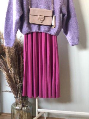 Anna Field Geplooide rok violet-neonroos