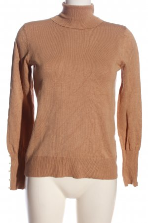 Anna Field Turtleneck Shirt brown casual look
