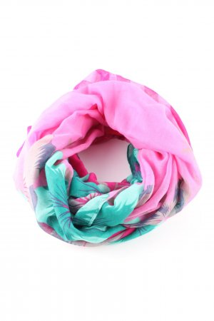 Anna Field Snood roze-turkoois casual uitstraling