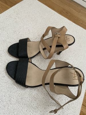 Anna Field Hoge hakken sandalen zwart-beige