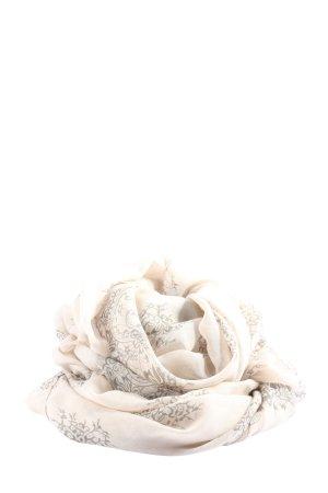 Anna Field Scaldacollo crema-grigio chiaro stampa integrale stile casual