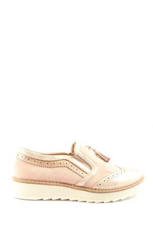 Anna Field Buty wciągane różowy-biały W stylu casual