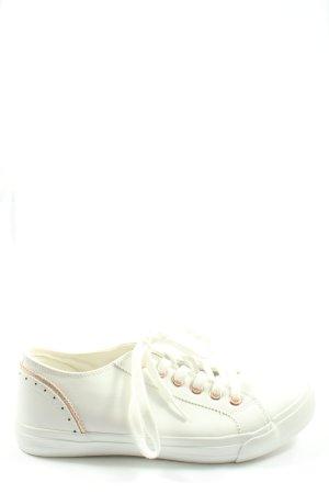 Anna Field Sneakers met veters wit casual uitstraling