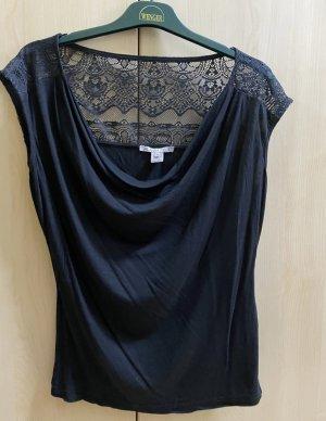 Anna Field Siateczkowa koszulka czarny