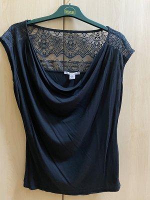 Anna Field Szydełkowana koszulka czarny
