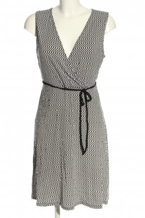 Anna Field Shirtkleid weiß-schwarz Allover-Druck klassischer Stil