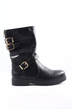 Anna Field Slouch Booties black