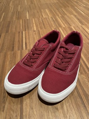 Anna Field Lace-Up Sneaker dark red