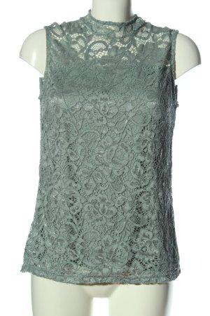 Anna Field Kanten blouse turkoois elegant
