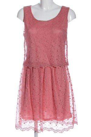Anna Field Abito in pizzo rosa elegante