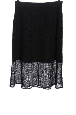 Anna Field Koronkowa spódnica czarny W stylu casual