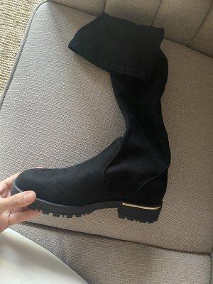 Anna Field Stiefel 40 schwarz overknees