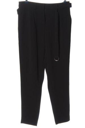 Anna Field Pantalon en jersey noir style décontracté