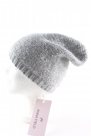 Anna Field Fabric Hat light grey casual look
