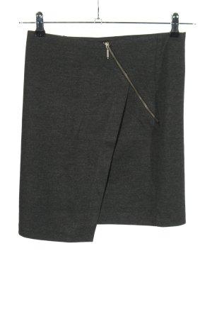 Anna Field Jupe stretch noir moucheté style décontracté