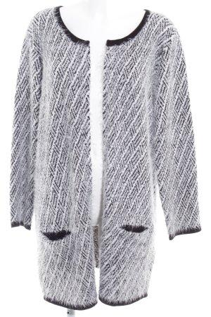 Anna Field Cardigan tricotés noir-blanc cassé