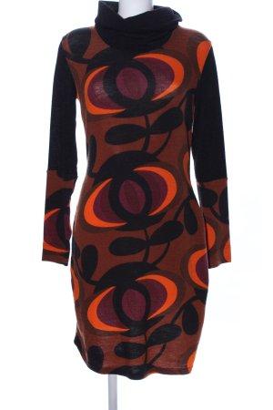 Anna Field Strickkleid abstraktes Muster Business-Look