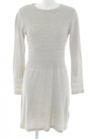 Anna Field Knitted Dress oatmeal cable stitch casual look