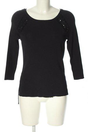 Anna Field Pull tricoté noir style décontracté