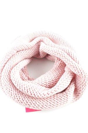 Anna Field Gebreide sjaal roze casual uitstraling