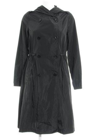 Anna Field Trenchcoat zwart straat-mode uitstraling