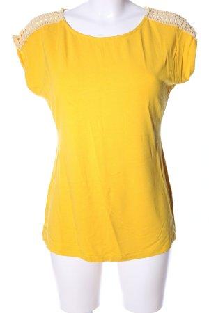 Anna Field U-Boot-Shirt blassgelb Casual-Look