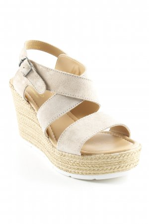 Anna Field Wedges Sandaletten beige Street-Fashion-Look