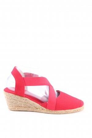 Anna Field Wedges Sandaletten rot Casual-Look