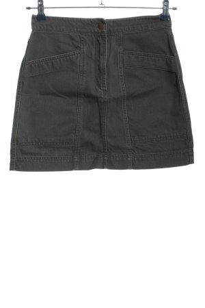 Anna Glover × H&M Jeansowa spódnica jasnoszary W stylu casual